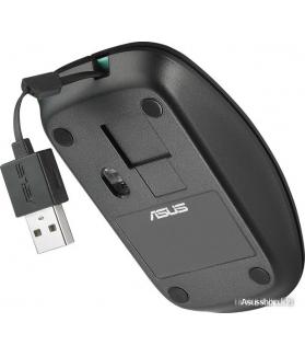 Мышь ASUS UT300 (черный/голубой)
