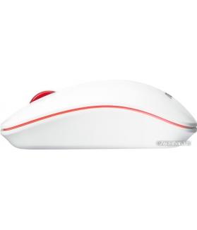 Мышь ASUS WT300 (белый/красный)
