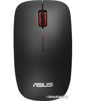 Мышь ASUS WT300 (черный/красный)