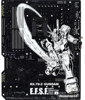 Материнская плата ASUS Z590 WiFi Gundam Edition