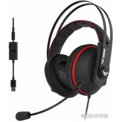 Наушники ASUS TUF Gaming H7 (черный/красный)